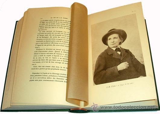 Libros antiguos: 1936 - ENTOMOLOGIA - LA VIDA DEL NATURALISTA HENRY FABRE - Imprescindible - Foto 8 - 24627309