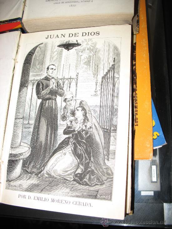 Libros antiguos: Juan de Dios. Novela histórica. EMILIO MORENO CEBADA. - Foto 3 - 27412284