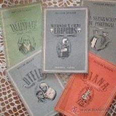 Libros antiguos: CINCO LIBRITOS COLECCION UNIVERSO. Lote 27213885