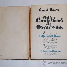 Libros antiguos: VIDA Y CONFESIONES DE OSCAR WILDE II. FRANK HARRIS RM33054. Lote 28757543