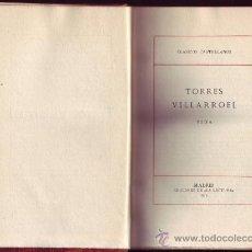 Libros antiguos: DIEGO DE TORRES VILLARROEL. VIDA. EDICIÓN Y NOTAS FEDERICO DE ONIS. EDICIONES DE . Lote 29147258