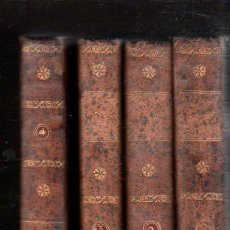 Libros antiguos: HISTORIA DEL FAMOSO PREDICADOR FRAY GERUNDIO DE CAMPAZAS, POR EL PADRE ISLA,CUATRO TOMOS,MADRID 1813. Lote 29494766