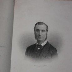 Libros antiguos: SEMBLANZAS CONTEMPORÁNEAS, POR CASTELAR. OLLIVIER, INGRES, COUSIN. HABANA 1873, GRABADO DE OLLIVIER. Lote 30021427