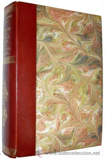 Libros antiguos: 1876 - LUJOSO VOLUMEN DE LA VIDA DE CERVANTES - 2 Tomos con 22 Láminas de PLANAS - Foto 3 - 32620963