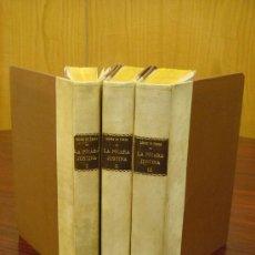 Libros antiguos: LA PÍCARA JUSTINA. 1912, 3 VOL.. Lote 32919490