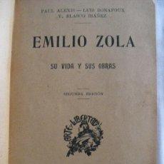Alte Bücher - Emilio Zola. Su vida y sus obras - 33143177