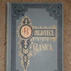 Libros antiguos: HISTORIA DE LAS EXPEDICIONES DE ALEJANDRO (1883) / ARRIANO. BIBLIOTECA CLÁSICA. MAGNO.. Lote 33922586