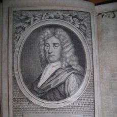 Libros antiguos: THE POETICAL WORKS OF NICHOLAS ROWE WITH THE LIFE OF THE AUTHOR, 1781. CONTIENE 2 GRABADOS.. Lote 34328352