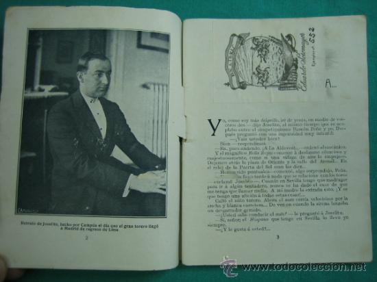 Libros antiguos: Joselito por El Caballero Audaz 1920 - Foto 2 - 34677481