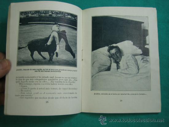 Libros antiguos: Joselito por El Caballero Audaz 1920 - Foto 5 - 34677481