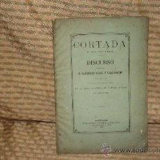 Libros antiguos: 2135- CORTADA SU VIDA SUS OBRAS. CAYETANO VIDAL. TIP. JAIME VIDAL. 1872. Lote 34715289