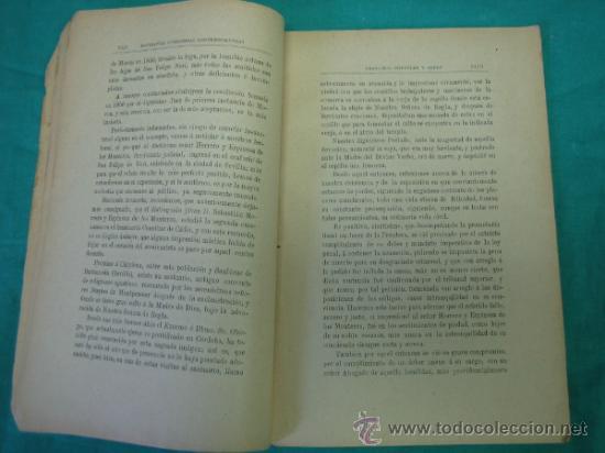 Libros antiguos: Biografias Cordobesas. Francisco Gonzalez y Saenz 1895. Incompleta - Foto 5 - 35731140