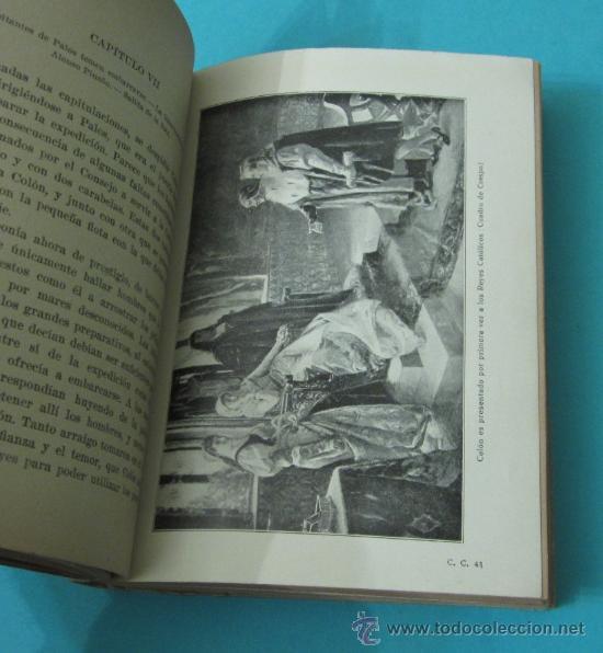 Libros antiguos: VIDA DE CRISTÓBAL COLÓN, JUAN PALAU VERA - Foto 3 - 35915147