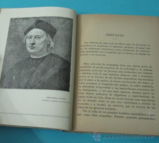 Libros antiguos: VIDA DE CRISTÓBAL COLÓN, JUAN PALAU VERA - Foto 4 - 35915147