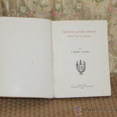 Libros antiguos: 3149- FRUCTUOS, AUGURI I EULOGI. J. SERRA VILARO. TIP. TORRES I VIRGILI. 1936.. Lote 37215045
