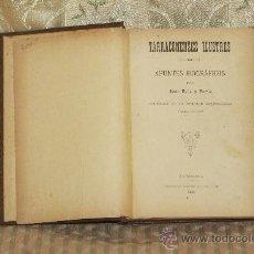 Libros antiguos: 3238- TARRACONENSES ILUSTRES. APUNTES BIOGRAFICOS. JUAN RUIZ Y PORTA. TIP. ARIS. 1891.. Lote 37376623