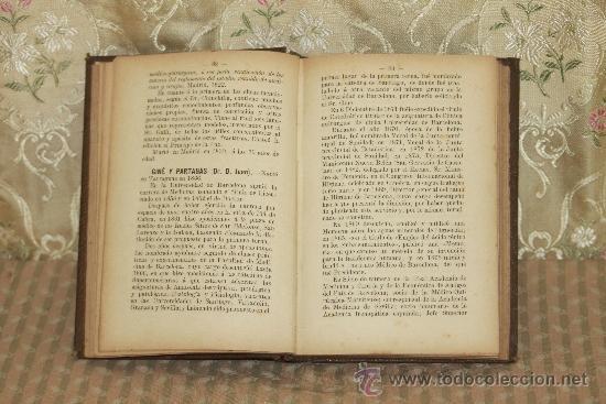 Libros antiguos: 3238- TARRACONENSES ILUSTRES. APUNTES BIOGRAFICOS. JUAN RUIZ Y PORTA. TIP. ARIS. 1891. - Foto 2 - 37376623