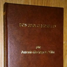 Libros antiguos: D. PABLO MORILLO, PRIMER CONDE DE CARTAGENA POR ANTONIO RODRÍGUEZ VILLA DE IMP. FORTANET MADRID 1909. Lote 37404676