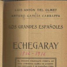 Libros antiguos: ECHEGARAY. LUIS ANTON DEL OLMET. ARTURO GARCÍA CARRAFFA. IM. ALREDEDOR DEL MUNDO. MADRID. 1912. Lote 39402653