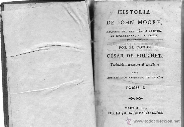 Libros antiguos: HISTORIA DE JOHN MOORE - Foto 2 - 40108925