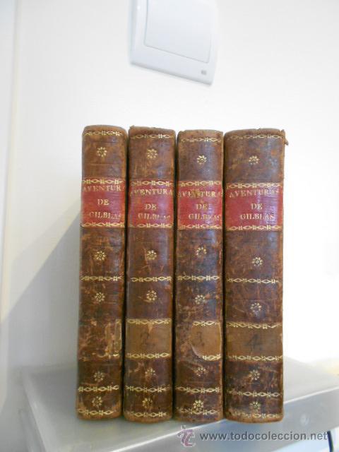 AVENTURAS DE GIL BLAS DE SANTILLANA (Libros Antiguos, Raros y Curiosos - Biografías )