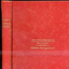 Libros antiguos: PASCHETTA : HISTORIA DE NAPOLEÓN I (SOPENA). Lote 40181525