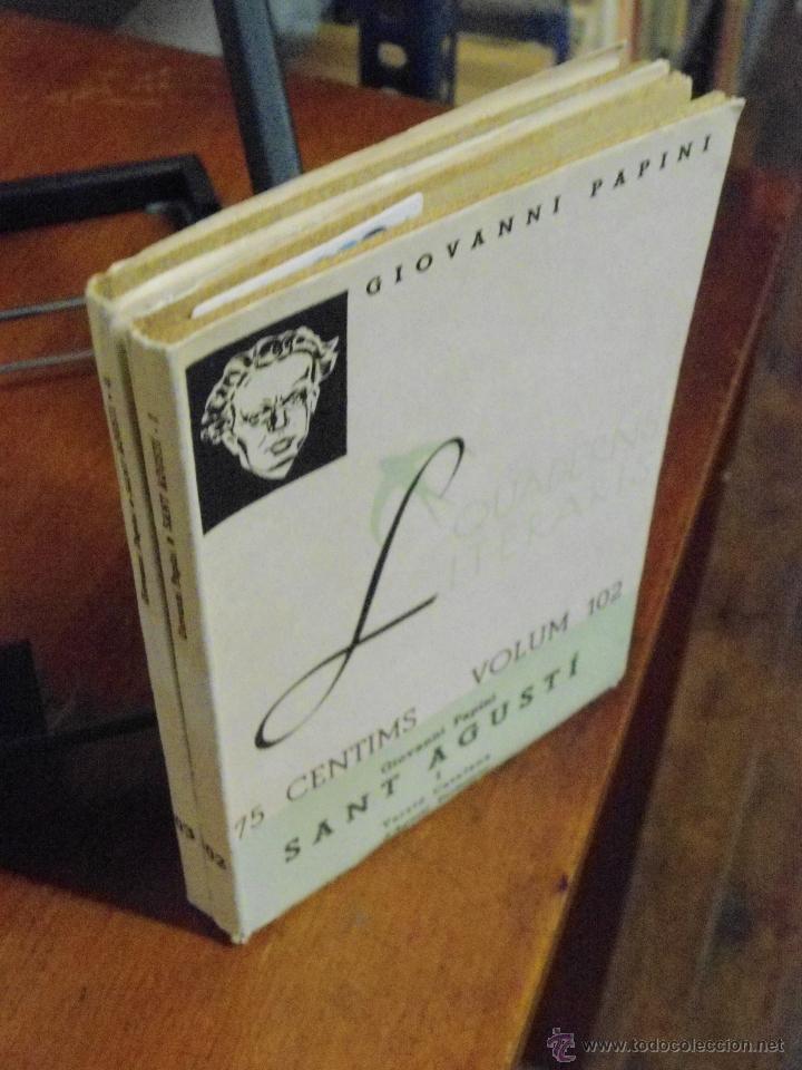 GIOVANNI PAPINI. SANT AGUSTÍ. 1936 (Libros Antiguos, Raros y Curiosos - Biografías )