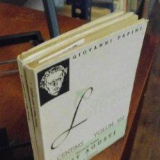 Libros antiguos: GIOVANNI PAPINI. SANT AGUSTÍ. 1936. Lote 40341353