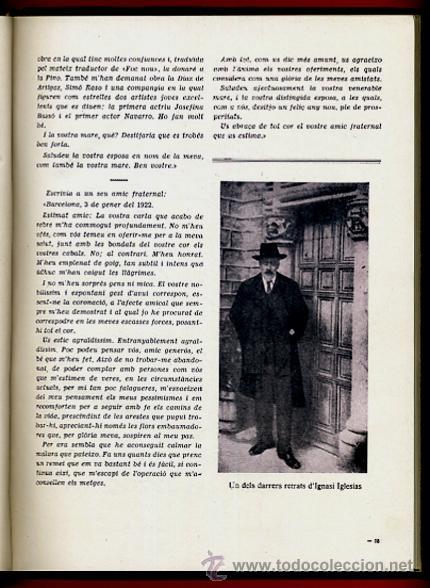 Libros antiguos: LIBRO, LLIBRE D'OR A INGNASI IGLESIAS, LIBRO DE ORO , 1935 ,ORIGINAL - Foto 4 - 41007605