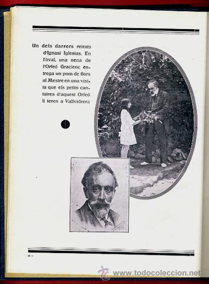 Libros antiguos: LIBRO, LLIBRE D'OR A INGNASI IGLESIAS, LIBRO DE ORO , 1935 ,ORIGINAL - Foto 7 - 41007605