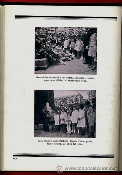 Libros antiguos: LIBRO, LLIBRE D'OR A INGNASI IGLESIAS, LIBRO DE ORO , 1935 ,ORIGINAL - Foto 9 - 41007605