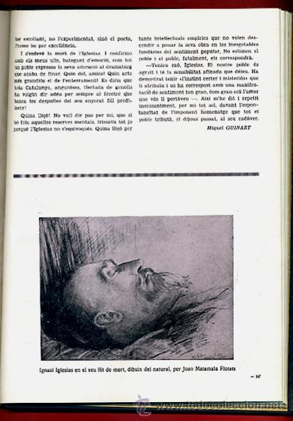 Libros antiguos: LIBRO, LLIBRE D'OR A INGNASI IGLESIAS, LIBRO DE ORO , 1935 ,ORIGINAL - Foto 10 - 41007605