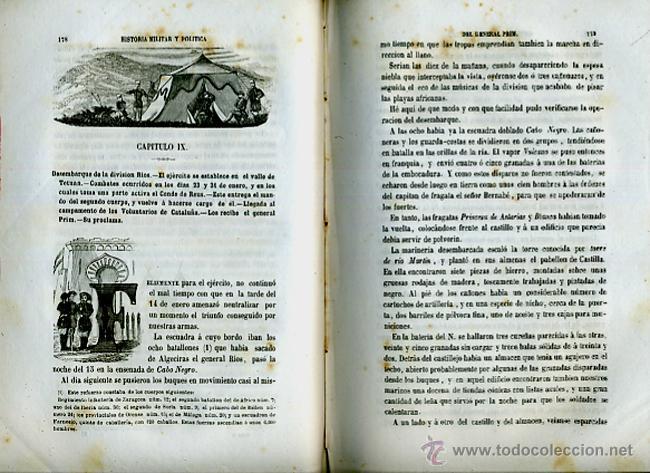 Libros antiguos: LIBRO, 2 TOMOS, HISTORIA MILITAR Y POLITICA D. JUAN PRIM , 1860 , GRABADOS, ORIGINAL - Foto 12 - 41073438
