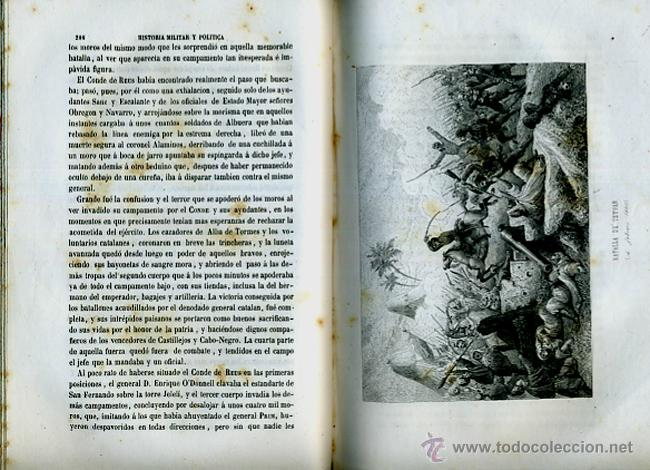 Libros antiguos: LIBRO, 2 TOMOS, HISTORIA MILITAR Y POLITICA D. JUAN PRIM , 1860 , GRABADOS, ORIGINAL - Foto 13 - 41073438