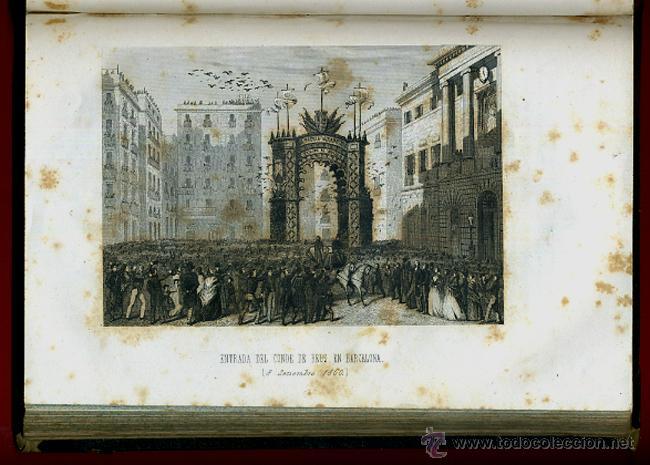 Libros antiguos: LIBRO, 2 TOMOS, HISTORIA MILITAR Y POLITICA D. JUAN PRIM , 1860 , GRABADOS, ORIGINAL - Foto 14 - 41073438