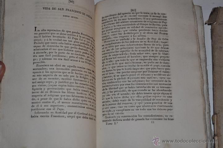 Libros antiguos: Vida y Obra de San Francisco de Sales, Obispo y Príncipe de Ginebra. DOS TOMOS . RM64833-V - Foto 3 - 41665941