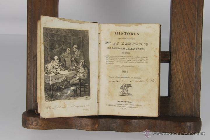 D-130. HISTORIA DEL FAMOSO PREDICADOR FRAY GERUNDIO. FRANCISCO LOBON. LIB. JOSE TAULO 1842. (Libros Antiguos, Raros y Curiosos - Biografías )