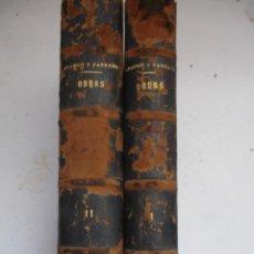 Libros antiguos: OBRAS DEL EXCMO. SEÑOR D. FRANCISCO DE ARANGO Y PARREÑO, 1888.HABANA ((((MUY RARO))) OBRA COMPLETA. Lote 42484372