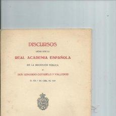 Libros antiguos: PAYO GÓMEZ CHARIÑO, ALMIRANTE Y POETA. COTARELO Y VALLEDOR, ARMANDO. Lote 42541655