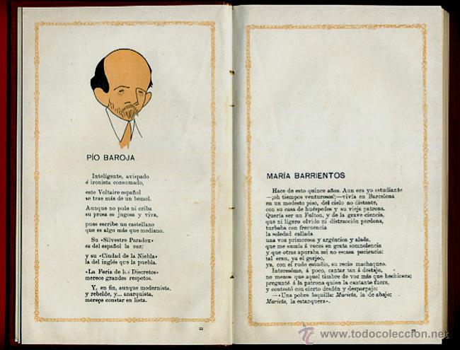Libros antiguos: LIBRO CELEBRIDADES CONTEMPORANEAS, ILUSTRACIONES, ROMAN BONET JOSE ABAD , ORIGINAL - Foto 3 - 42563680