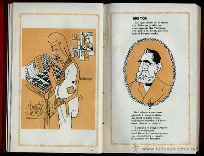 Libros antiguos: LIBRO CELEBRIDADES CONTEMPORANEAS, ILUSTRACIONES, ROMAN BONET JOSE ABAD , ORIGINAL - Foto 5 - 42563680