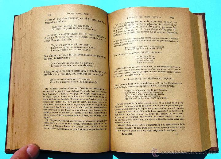 Libros antiguos: ANTOLOGÍA DE PÓETAS LÍRICOS CASTELLANOS TOMO XIII. JUAN BOSCÁN. POR M. MENÉNDEZ PELAYO. MADRID 1919 - Foto 3 - 42758285