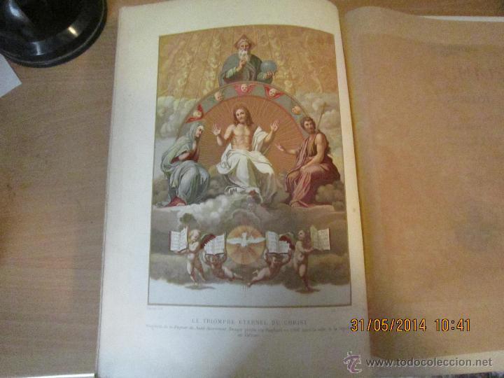 Libros antiguos: JESUS CHRIST DE LUIS VEUILLOT 1875. - Foto 3 - 43595418