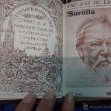 Libros antiguos: LIBRO ENCUADERNADO CON 14 FIGURAS DE LA RAZA, SOROLLA GALDOS CISNEROS......VER FOTOS , ORIGINAL, B1. Lote 43879154