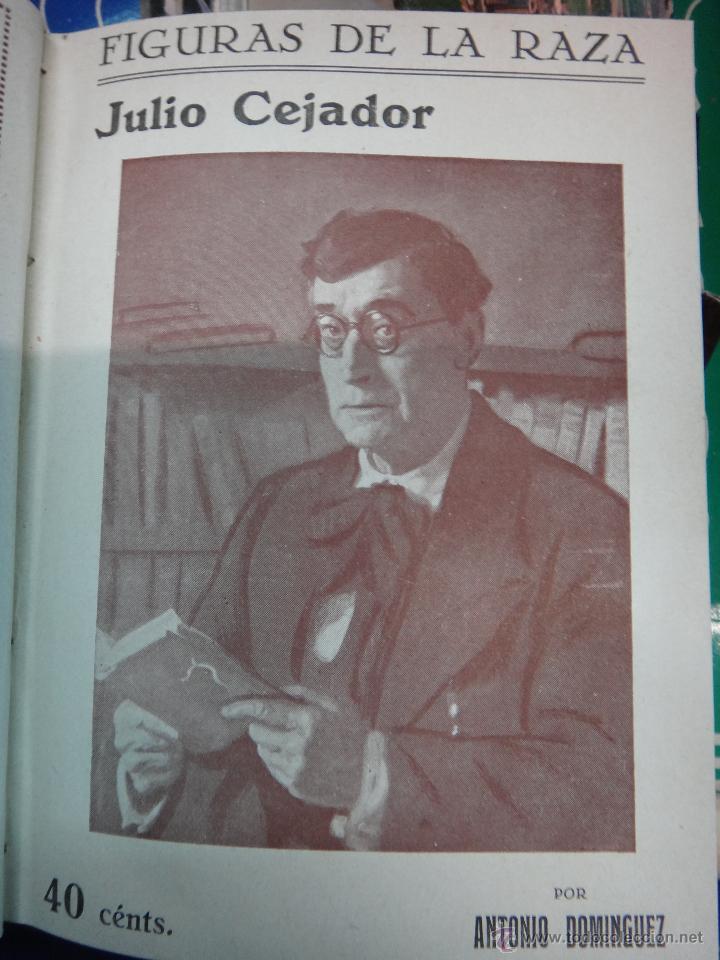 Libros antiguos: LIBRO ENCUADERNADO CON 14 FIGURAS DE LA RAZA, SOROLLA GALDOS CISNEROS......VER FOTOS , ORIGINAL, B1 - Foto 5 - 43879154