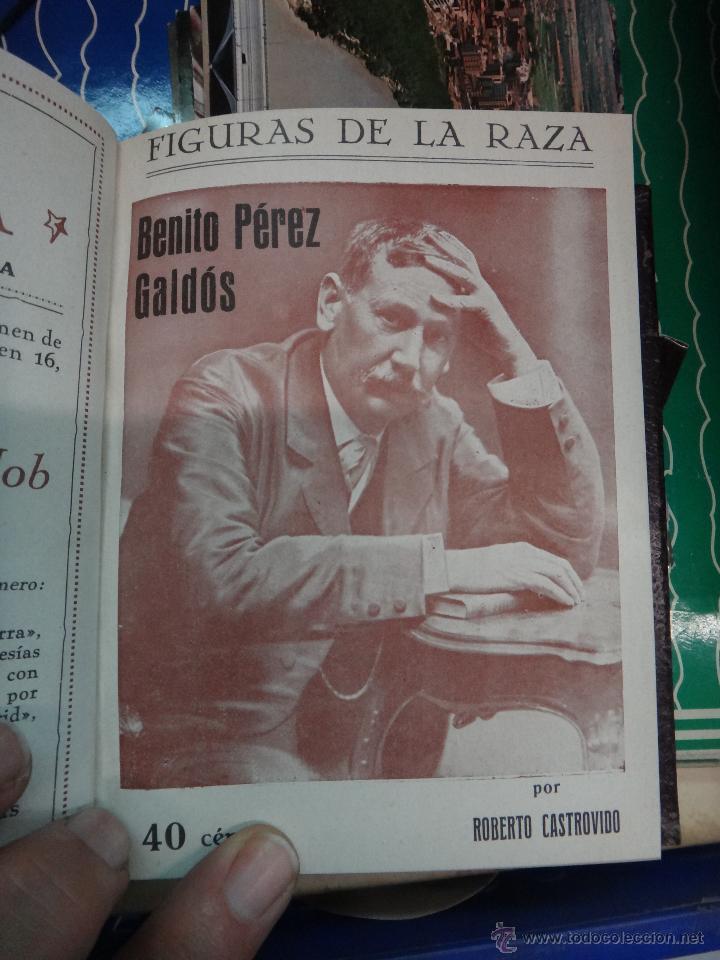 Libros antiguos: LIBRO ENCUADERNADO CON 14 FIGURAS DE LA RAZA, SOROLLA GALDOS CISNEROS......VER FOTOS , ORIGINAL, B1 - Foto 7 - 43879154
