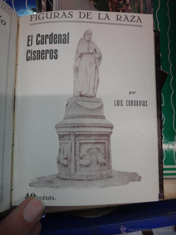 Libros antiguos: LIBRO ENCUADERNADO CON 14 FIGURAS DE LA RAZA, SOROLLA GALDOS CISNEROS......VER FOTOS , ORIGINAL, B1 - Foto 8 - 43879154