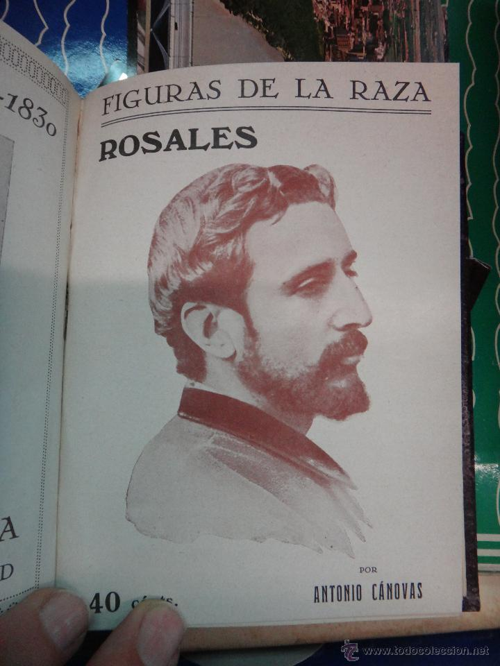 Libros antiguos: LIBRO ENCUADERNADO CON 14 FIGURAS DE LA RAZA, SOROLLA GALDOS CISNEROS......VER FOTOS , ORIGINAL, B1 - Foto 10 - 43879154