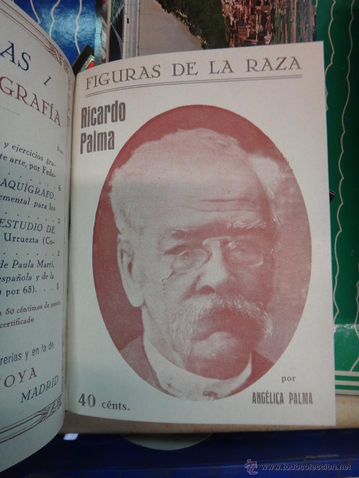 Libros antiguos: LIBRO ENCUADERNADO CON 14 FIGURAS DE LA RAZA, SOROLLA GALDOS CISNEROS......VER FOTOS , ORIGINAL, B1 - Foto 12 - 43879154