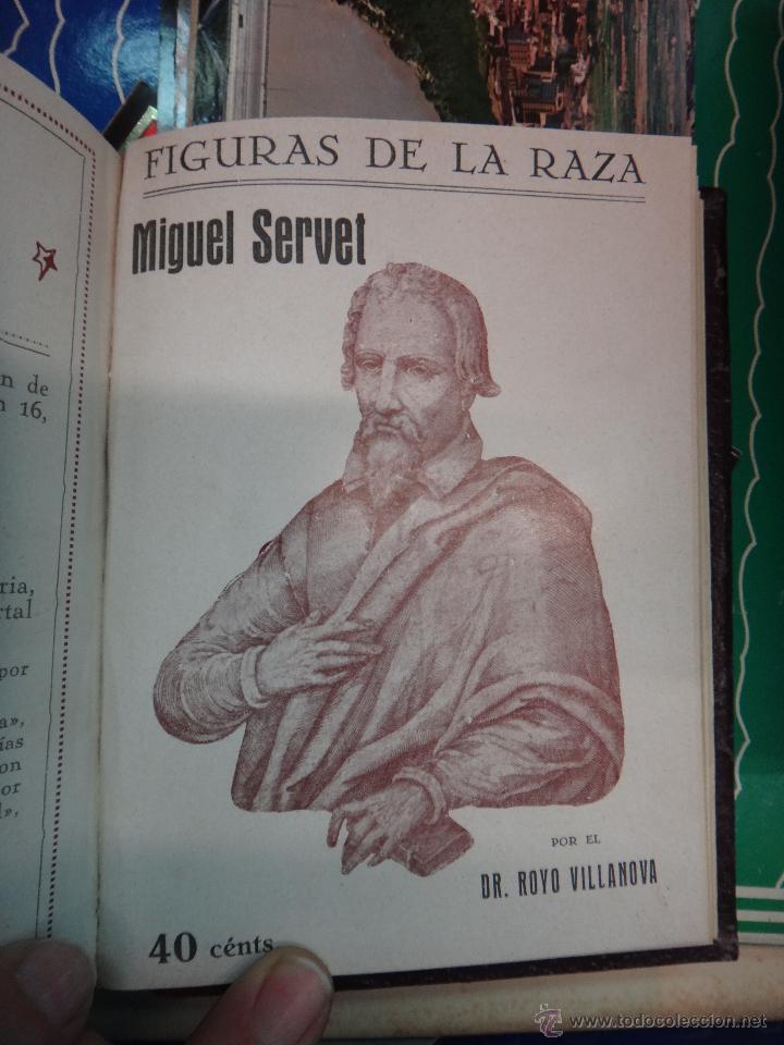 Libros antiguos: LIBRO ENCUADERNADO CON 14 FIGURAS DE LA RAZA, SOROLLA GALDOS CISNEROS......VER FOTOS , ORIGINAL, B1 - Foto 13 - 43879154